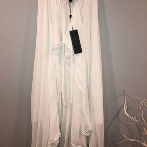 """BCBGMaxazria """"Bre"""" White Skirt"""